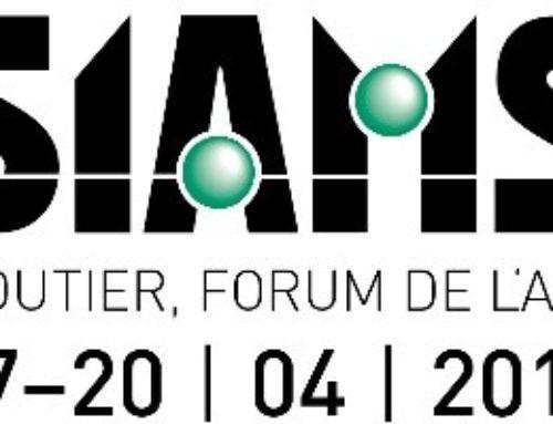 INR participe au SIAMS 2018 !