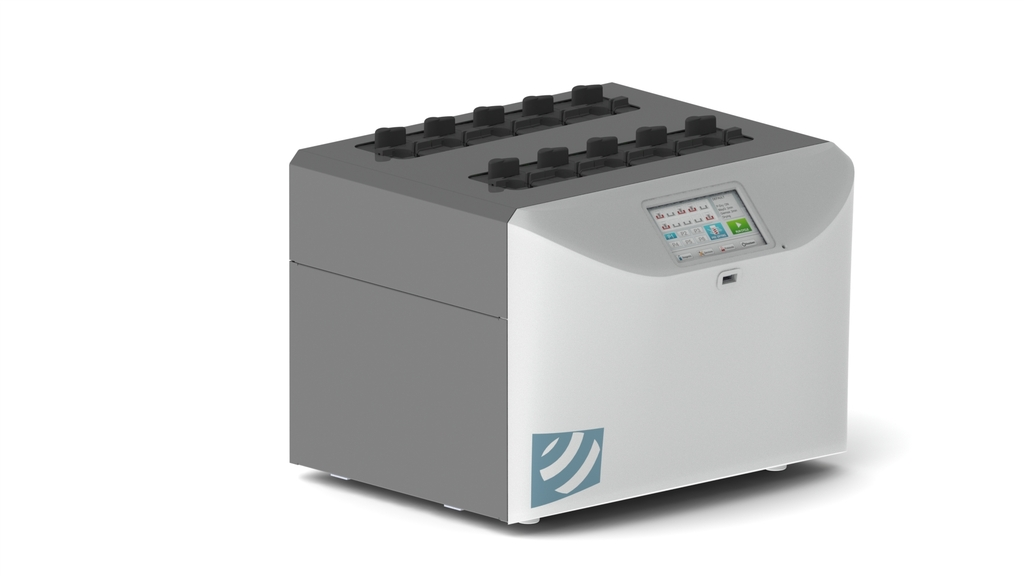 Capotage appareil d'instrumentation de laboratoire
