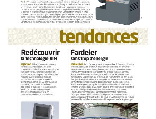 Parution dans Plastiques & Caoutchouc magazine, novembre 2017
